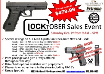 glocktober-sales-event